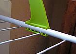 Сушка сушарка для білизни на батарею зелена Made in Germany, фото 5