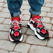 """Кроссовки Nike Retro IXI """"Красные / Черные / Белые"""", фото 3"""