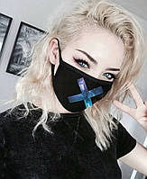 Красивая маска для лица, защитная маска от пыли и микробов