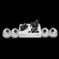 Комплект видеоконтроля (4 уличных видеокамеры) GREEN VISION GV-K-S16/04 1080P, фото 1