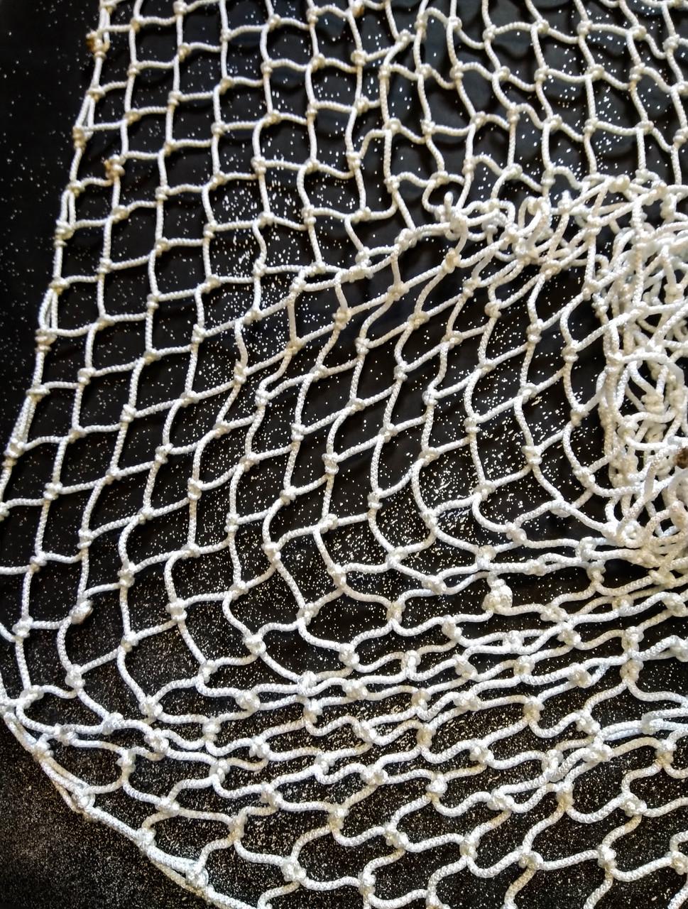 Сетка для мини-футбола, футзала, гандбола NETZ (D-4.5 мм, ячейка 120х120, 2.х3х0.6)
