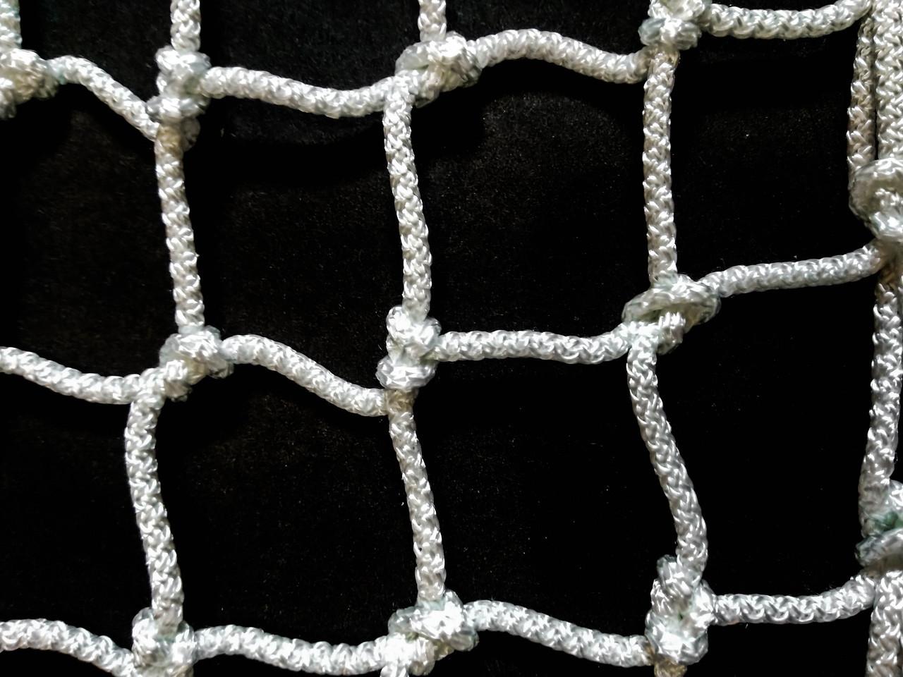 Сетка для мини-футбола, футзала, гандбола NETZ (D-2.5 мм, ячейка 100х100, 2.х3х0.6)