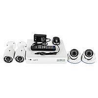 Комплект видеоконтроля (4 камеры) GREEN VISION GV-K-S17/04 1080P, фото 1