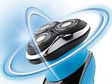 Электробритва роторная  Silver Crest Rotationsrasierer SRR 3.7 A1, фото 6
