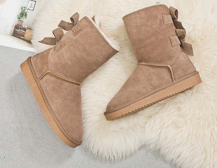 Женские зимние угги ботинки (с мехом)