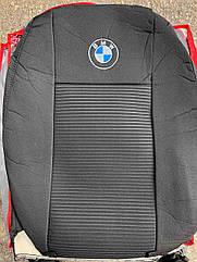 Авточехлы VIP BMW 5 (E-60) 2003-2007 (седан) автомобильные модельные чехлы на для сиденья сидений салона BMW 5 БМВ 5