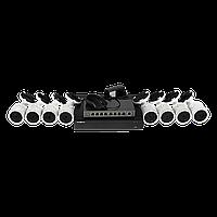 Комплект відеоконтролю (8 відеокамер) GREEN VISION GV-IP-K-L23/08 1080P