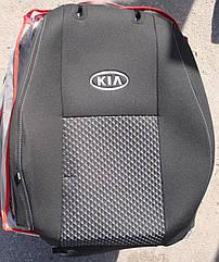 Чехлы VIP на сиденья KIA Rio 2011+ (хэтчбек) автомобильные модельные чехлы на для сиденья сидений салона KIA
