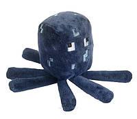 Мягкая игрушка Осьминог Спрут Майнкрафт.