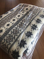 Летнее одеяло из овчины, плед покрывало из овечьей шерсти, разные расцветки, фото 1