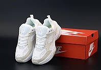 Женские кроссовки Nike M2K Tekno белые с бежевым, фото 1