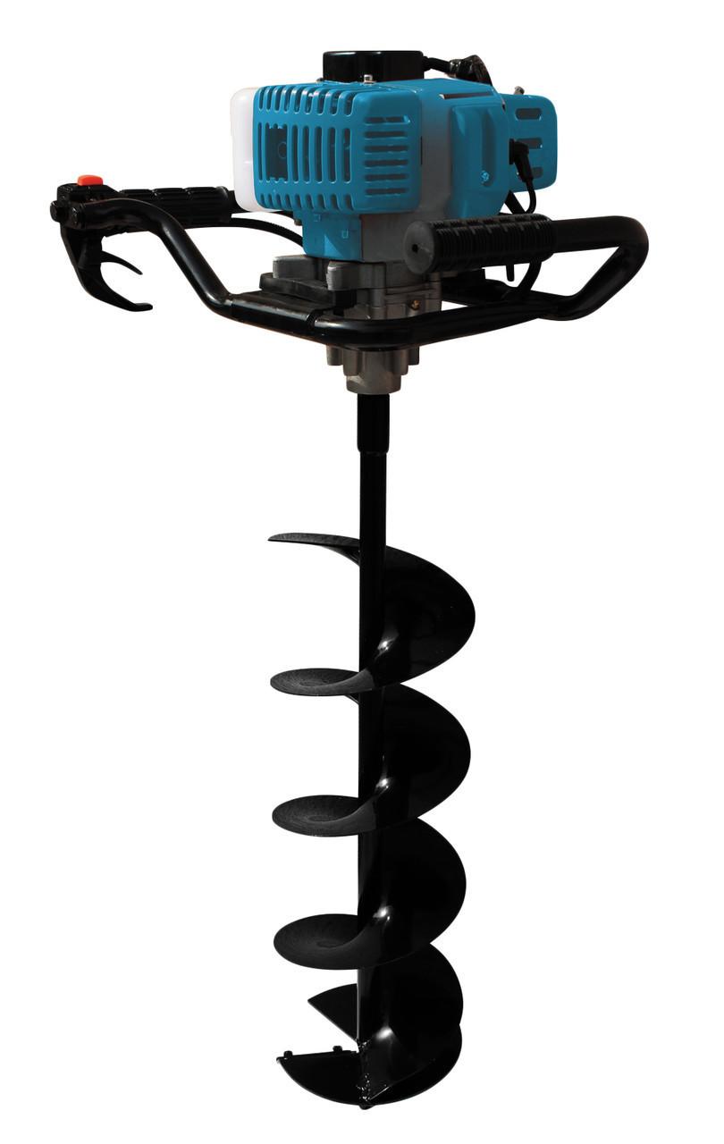 Мотобур Kraissmann 52 EB 300 (в комплекте шнек 100х1000, шнек 150ммх800мм, шнек 200х800)
