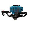 Мотобур Kraissmann 52 EB 300 (в комплекте шнек 100х1000, шнек 150ммх800мм, шнек 200х800), фото 2