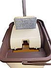 """Швабра Лентяйка с ведром для отжима, """"Maxi Flat Mop"""", TM Zambak Plastic, фото 2"""