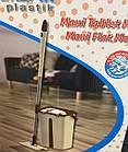 """Швабра Лентяйка с ведром для отжима, """"Maxi Flat Mop"""", TM Zambak Plastic, фото 5"""