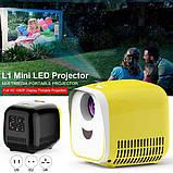 Мини проектор Kids Toy Projector L1, фото 4