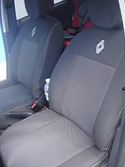 Автомобильные чехлы Vip на сиденья Renault Trafic 2+1 2014+ fg Рено Трафик