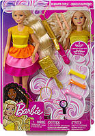 Кукла Barbie Барби роскошные удивительные волосы локоны кудри Ultimate Curls Doll and Hairstyling GBK24