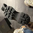 Prada Black Milano Sneakers Block, фото 5