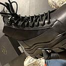Prada Black Milano Sneakers Block, фото 6