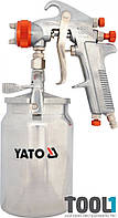 Краскопульт с нижним бачком 1,8 мм Yato YT-2346