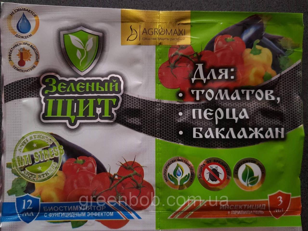 """СПАСАТЕЛЬ """"Зеленый щит"""" томатов, перца и баклажан 3 мл+12 мл\г"""