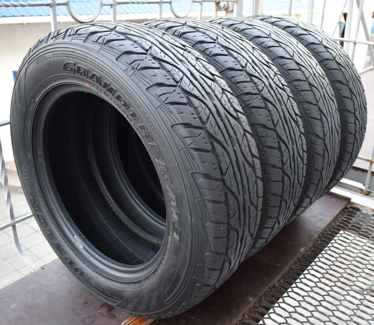 Шины б/у 225/65 R17 Dunlop GrandTrek AT3, 6 мм, 2016 г., комплект