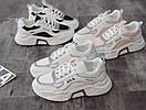 Женские кроссовки белые, фото 4