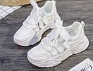 Женские кроссовки белые, фото 2