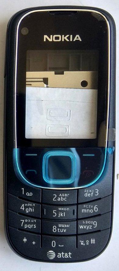 Корпус для Nokia 2323 Black