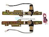 Стеклоподъемник двери передний ВАЗ 2109 2114 21099 2115  (ФОРВАРД г. Ижевск) комплект реечный, фото 2
