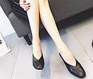 Женские туфли черные, фото 2