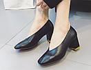 Женские туфли черные, фото 3
