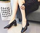 Женские туфли черные, фото 6