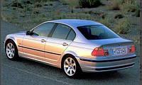 Дефлекторы окон, ветровики \ BMW 3 sedan (E46) 1998-2005 \ БМВ 3 серия RACING