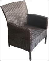 Садовое кресло из ротанга, фото 1