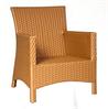 Кресло для кафе из искусственного ротанга