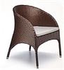 Кресло для ресторана, кафе, летней площадки из искусственного ротанга
