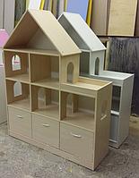 Стеллаж «Мечта макси» с ящиками Design Service (В*Ш*Г) 1500*1200*350мм