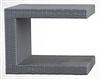 Журнальный столик плетеный из техноротанга 600х400х640