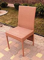 Барный стул из искусственного ротанга, фото 1