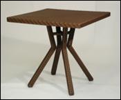 Столик плетенный садовый для кафе