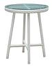 Столик круглый плетенный из ротанга садовый