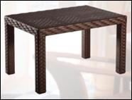 Столик плетенный садовый