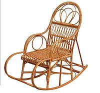 Кресло-качалка плетенное из лозы Барин