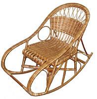 Кресло-качалка плетенное из лозы Дачник