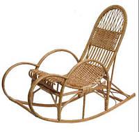 Кресло-качалка плетенное из лозы Реллакс