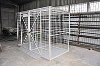 Мобильная клеть для хранения баллонов, фото 1