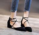 Женские туфли черные, фото 5