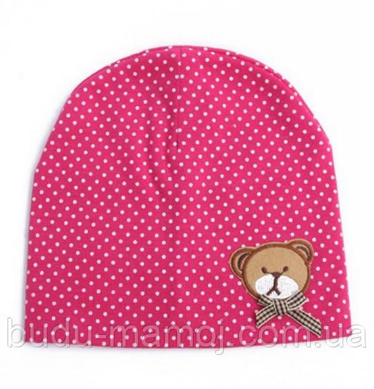 Детские шапочки 6 9 12 месяцев до года весна осень